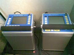 Les deux microgravimètres Scintrex CG5