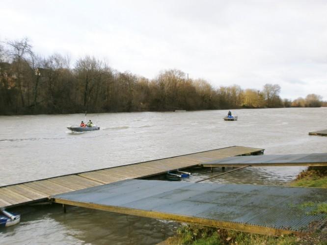 Seismic refraction on the river Seine – Meulan, Paris region