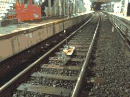 Imagerie radar de la plateforme ferroviaire – Tramway T1 – Viroflay (78)