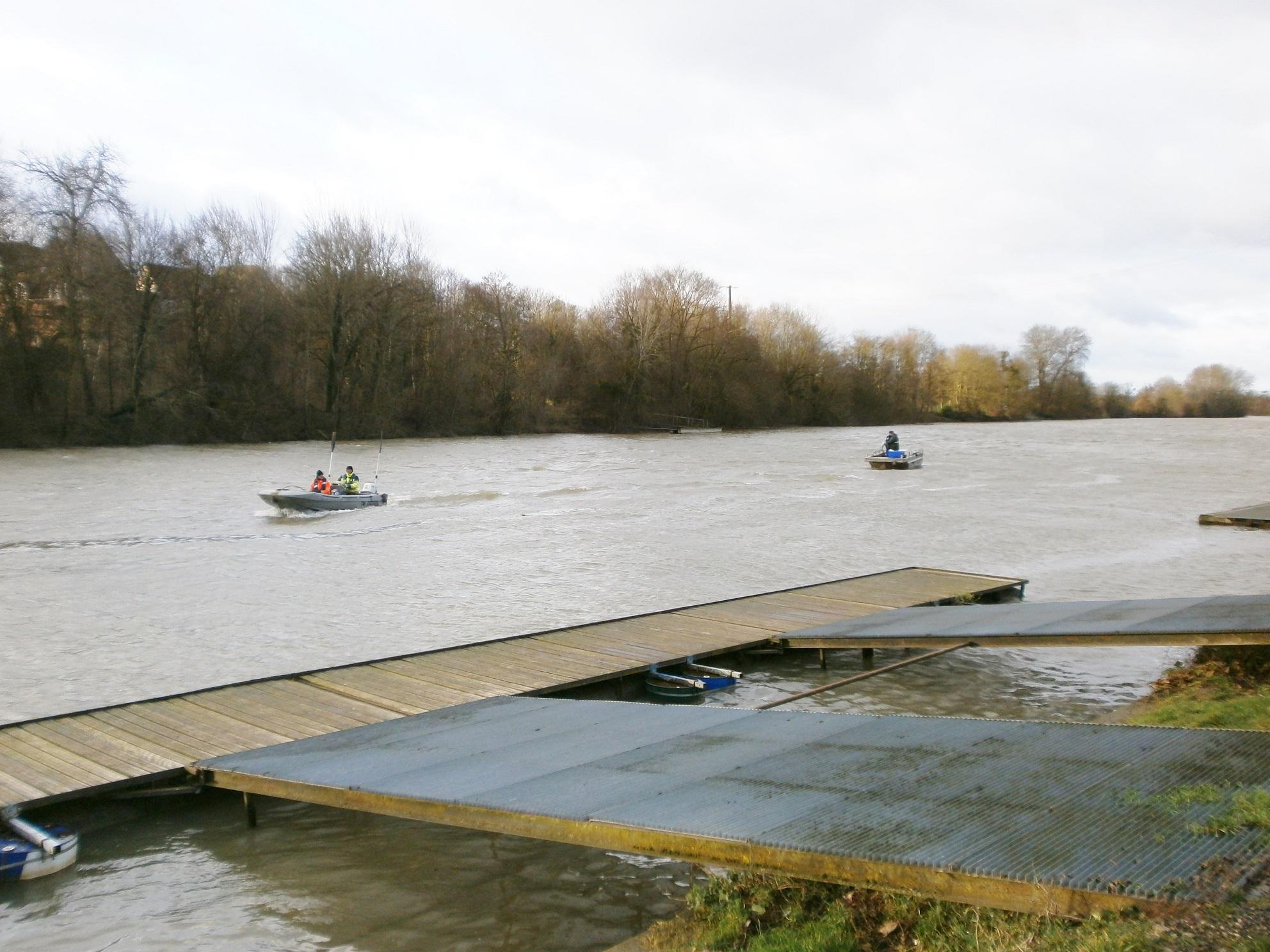 Sismique réfraction sur la Seine – Meulan (78)