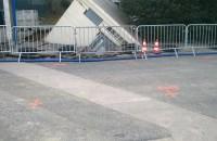 Effondrement du sol sous un poste électrique – Microgravimétrie en urgence