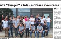 INNOGEO a fêté ses 10 ans le 21 septembre